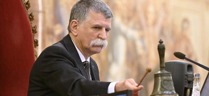 Kövér leírta, miért büntette meg Jakab Pétert közel 10 millió forintra