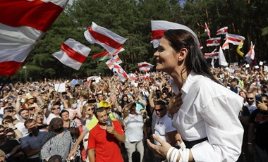 Cihanouszkajának több mint elege van a politikából