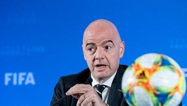 Koronavírusos a FIFA elnöke, Gianni Infantino