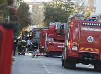 Leégett egy kétszintes családi ház Budapesten