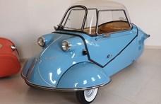 Visszatér a legendás Messerschmitt, elektromos autó lesz