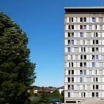 Ablakaival keltettek életre egy épületet - elképesztő videó