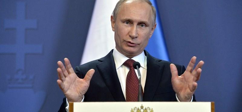 Putyin: Moszkva őszintén törekszik helyreállítani kapcsolatait Törökországgal