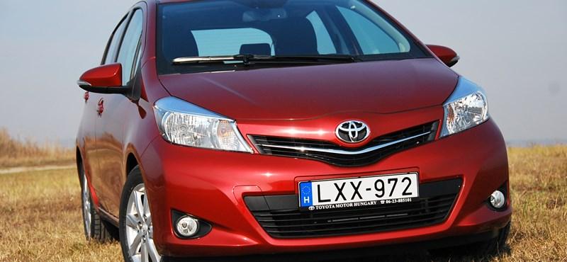 Toyota Yaris teszt: jobb lett