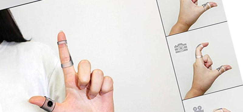Napi kütyü - Airclicker - fényképezzünk ujjaink segítségével