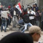 Ismét tüntetnek a kairói Tahrír téren