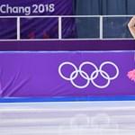 Tangás, tütüs, pocakos férfi bohóckodott a jégen az olimpián