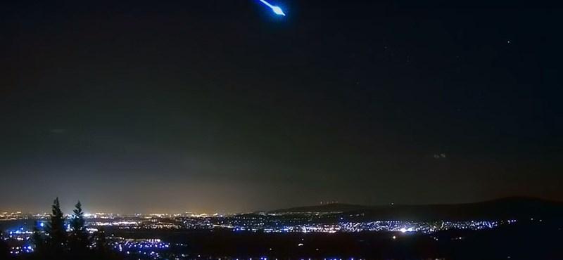 Csodaszép látvány: meteor hasított át az égen Magyarország felett