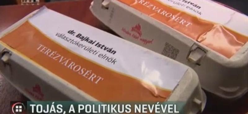 Fideszes politikus nevét írták a rászorulóknak osztott tojásokra