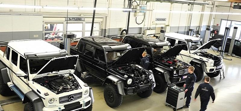 Íme négy példány a legdurvább és legdrágább Mercedes terepjáróból