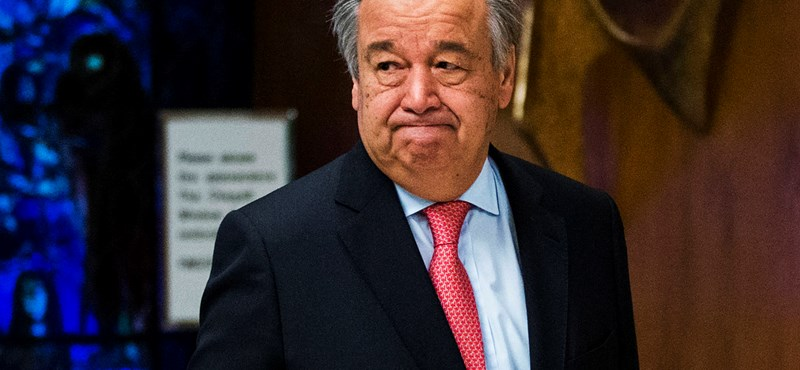 ENSZ-főtitkár: a hidegháború óta nem volt olyan nagy az atomveszély, mint idén
