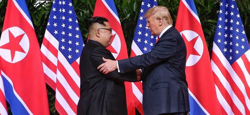Trump szerint lesz újabb találkozó Kim Dzsong-Unnal