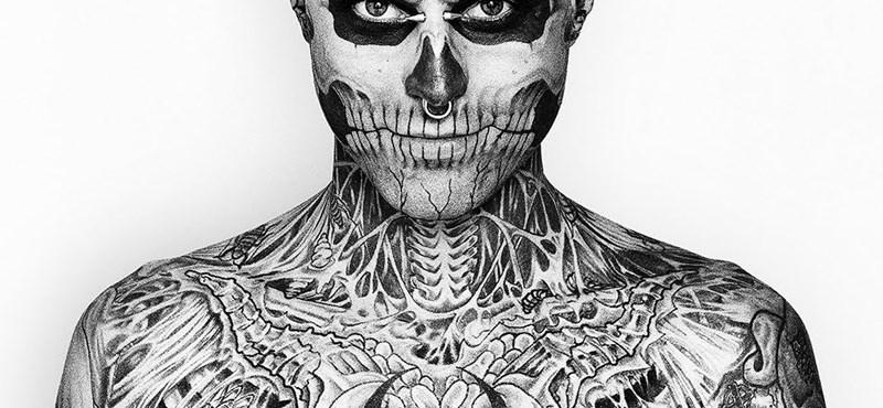 Zombie Boy, a megszállott tetoválás rajongó megmutatta valódi alakját a kameráknak (videó)