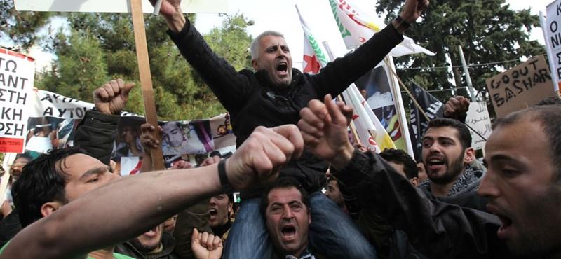Egyre durvábbak a szíriai összecsapások
