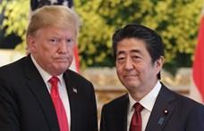 Trump Tokióban: Japán 105 amerikai F-35-ös bombázót vásárol