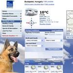 Tegyen látványos időjárás-jelentést a gépére