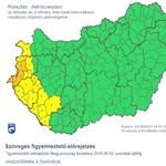 Nyugat-Magyarországon lakik? Akkor komoly felhőszakadásra számíthat