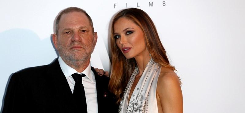 Elhagyja a felesége Harvey Weinsteint