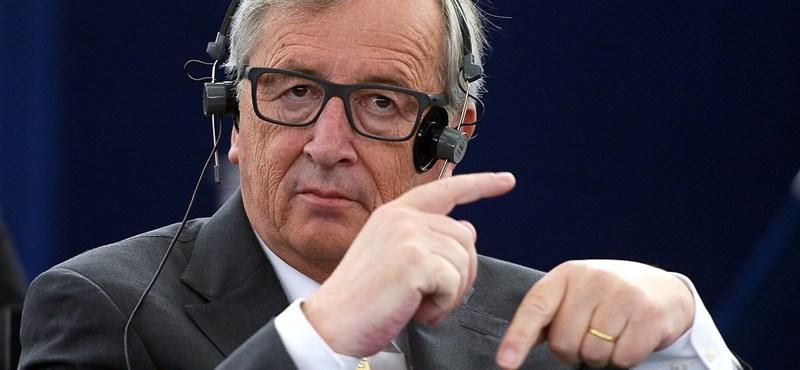 Videó: Juncker keményen odamondott a Brexit-pártiaknak az EP-ben