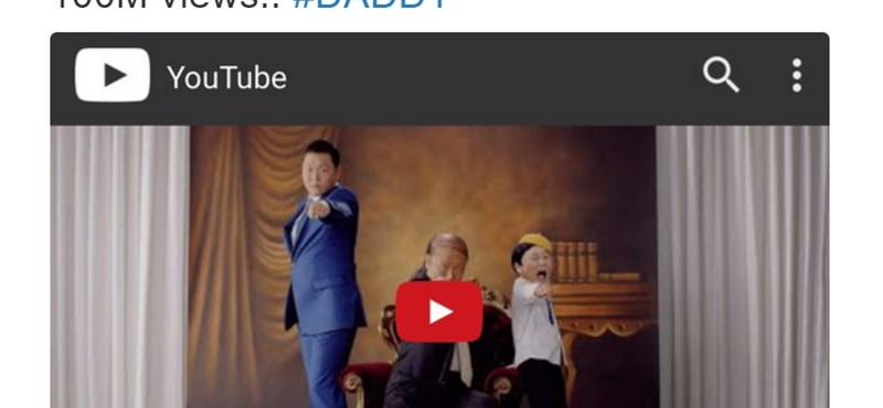 Negyedszerre is: százmilliós nézettség egy újabb Psy-videónál