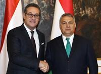 Orbán Viktor nem kívánta kommentálni Heinz-Christian Strache lemondását