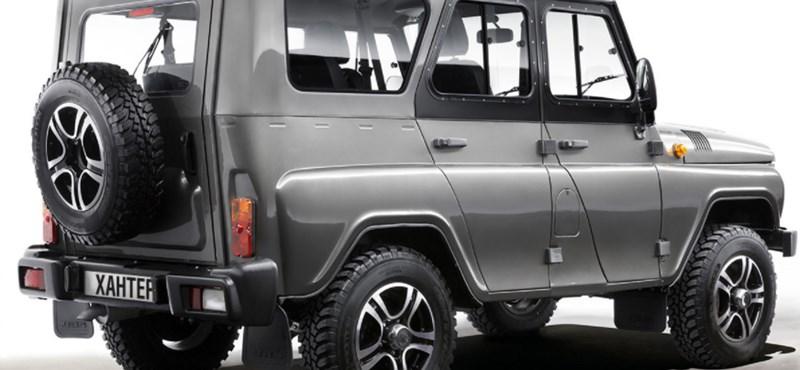 Ami mellett a Lada Niva is modern: 6-10 millió forintos vadiúj UAZ-okat árulnak Gyöngyösön