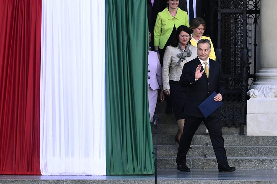 Érettségi és Orbán esküje a hét képein