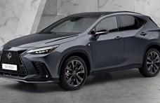 Megérkezett az első plugin hibrid Lexus