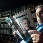 Orbán a Facebook-oldalán pózol a most indult Mandinerrel