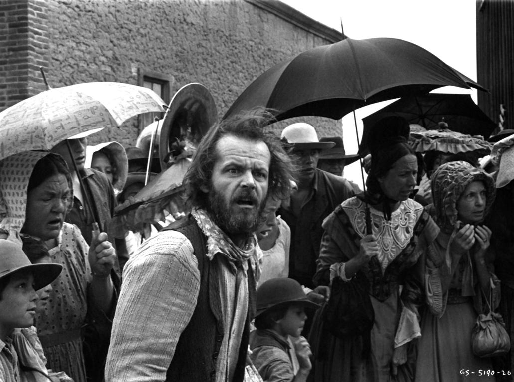 afp.1978. - Jack Nicholson Az Irány délre! című film egyik jelenetében. - Jack Nicholson nagyítás