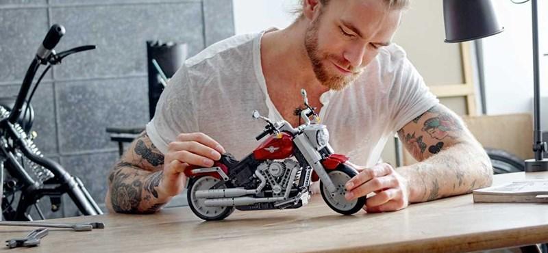 Itt az első Legóból összeszerelhető Harley-Davidson