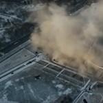 Beomlott egy óriási stadion tetőszerkezete Szentpéterváron – videó