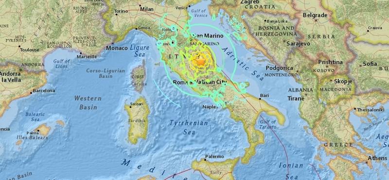 Újabb, az előzőnél is erősebb földrengés volt Olaszországban