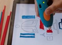 Ismét izgalmas ötlettel álltak elő a levegőben 3D-s tárgyakat nyomtató toll kitalálói