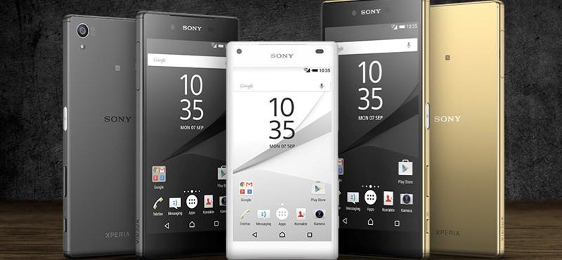 Kissé hihetetlen telefonnal jött ki a Sony