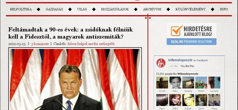 VV: a Fidesz-szöveg mögül kilóg a posztkommunista politika