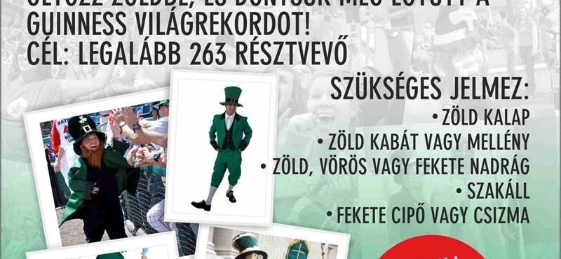 Sör, buli, zöld manók: Szent Patrik napi parádé Budapesten is!