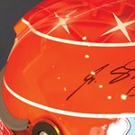 Eladó Schumacher és Senna eredeti sisakja, persze egyáltalán nem olcsón
