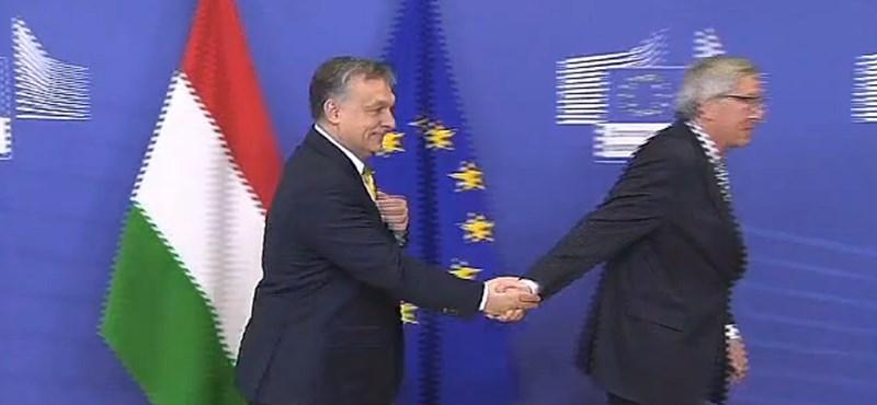 Videó: Sosem láttuk még Orbán Viktort ennyire zavarban
