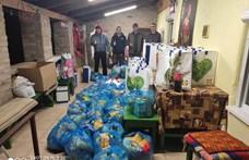 Két tonna adományt gyűjtötek a rászorulóknak Gyomaendrődön