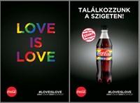 Marketingdíjat kapott a Coca-Cola szivárványos kampánya