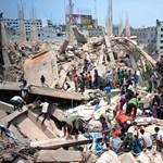 Fotó: 82 halottja van a dakkai házomlásnak