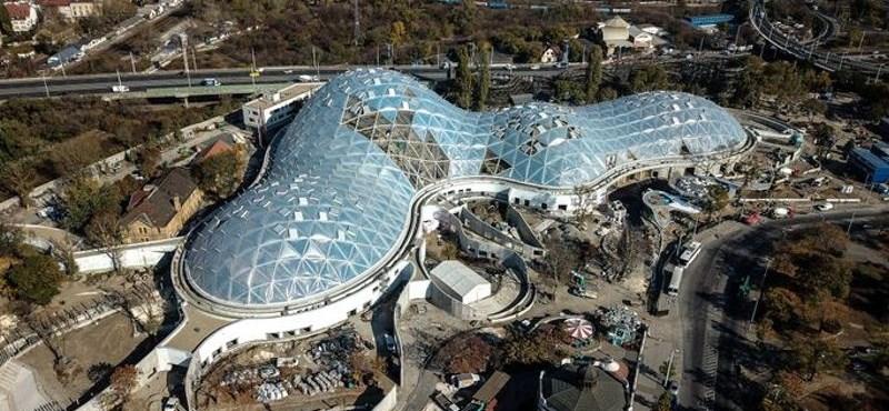 Az állatkerti Biodóm energiafogyasztása akkora lesz, mint egy egész kerületé