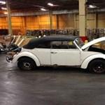 40 év után került elő az ellopott Volkswagen Bogár