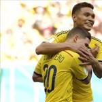 Kolumbia tovább menetel - ezúttal Drogba is kevés volt