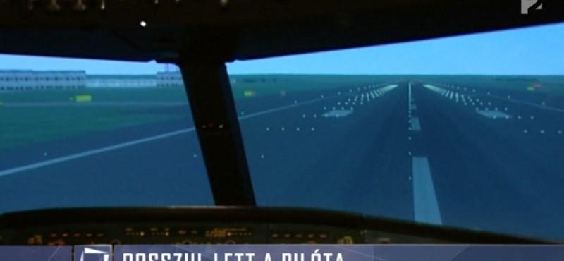 Rosszul lett a Frankfurt-Budapest járat pilótája