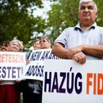 """""""Orbán Viktort ki kéne seprűzni ebből az országból"""" – galéria"""
