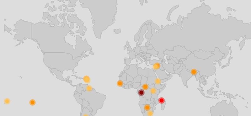 Addig jó, míg Magyarország fölött nincs piros pont: közzétették az internet térképét