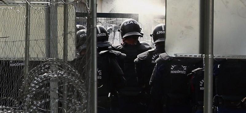 Nem lesz vizsgálat az azonosító nélküli röszkei TEK-akció miatt, a rendőrség a felvételeket is törölte