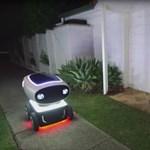 Jön a robot pizzafutár